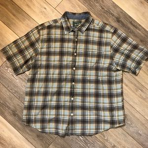Woolrich Button Down Shirt Sleeve T-Shirt